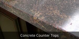 Concrete Custom Countertops