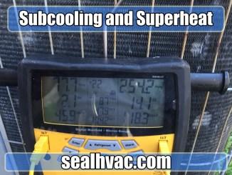 subcooling superheat