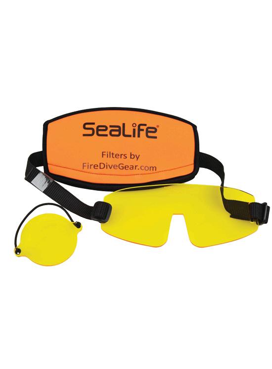 SeaLife underwater photography fluoro light barrier filter