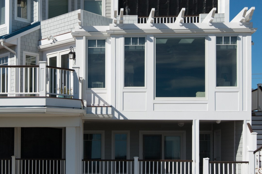 Bunting New Addition in Fenwick Island DE Exterior with Large Windows