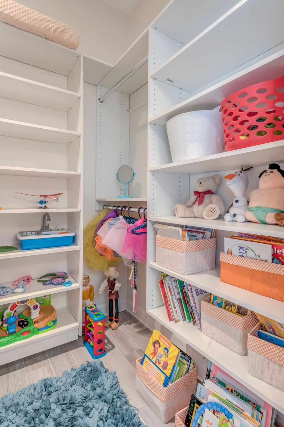 Addition in Juniper Court, Ocean Pines MD - Kids Closet with Toys and Books