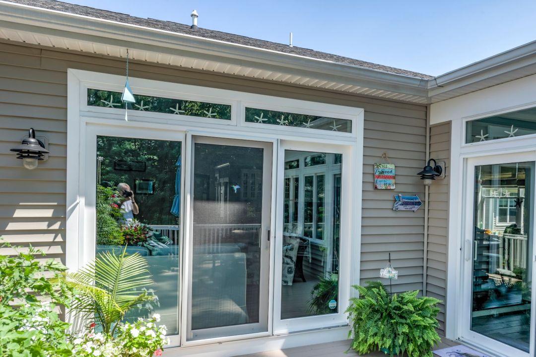 Exterior in Shelter Drive, Selbyville DE - Glass Door