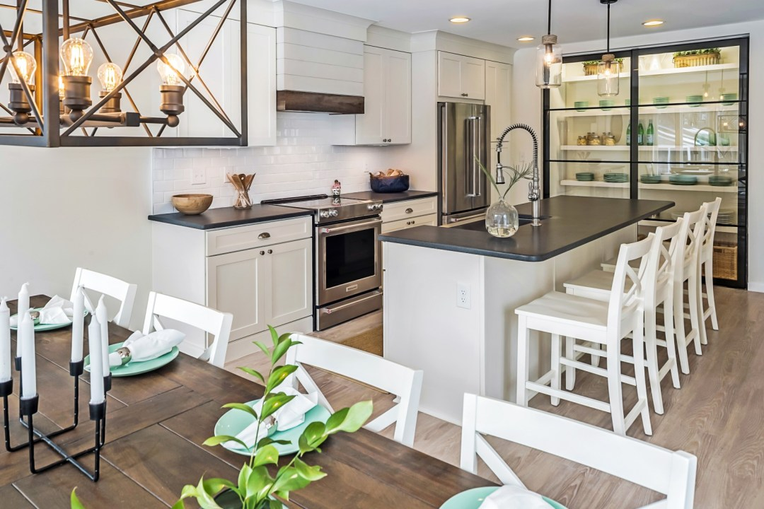 Renovated Kitchen Dining Area in Wellington Parkway, Bethany Beach DE