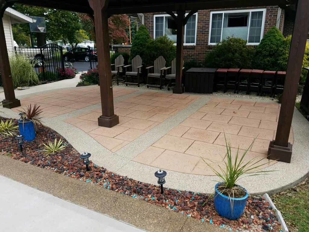 acrylic and stamped concrete sealers in