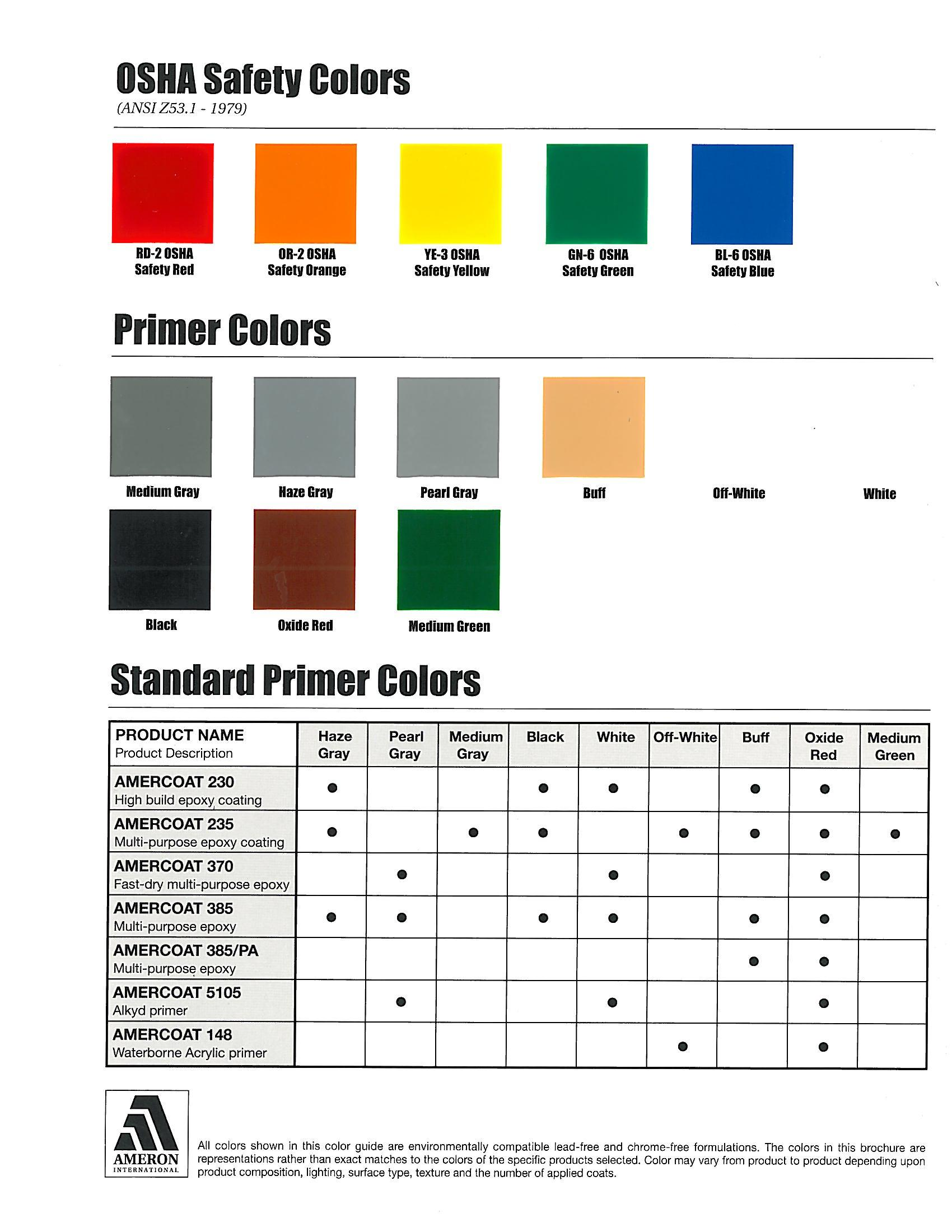 Gambar Amercoat 450h Color Chart Pdf Jpeg Png Gif Best Pictures