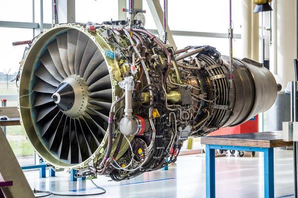 Jet Engine Turbofan Aerospace Gas Turbine Saint