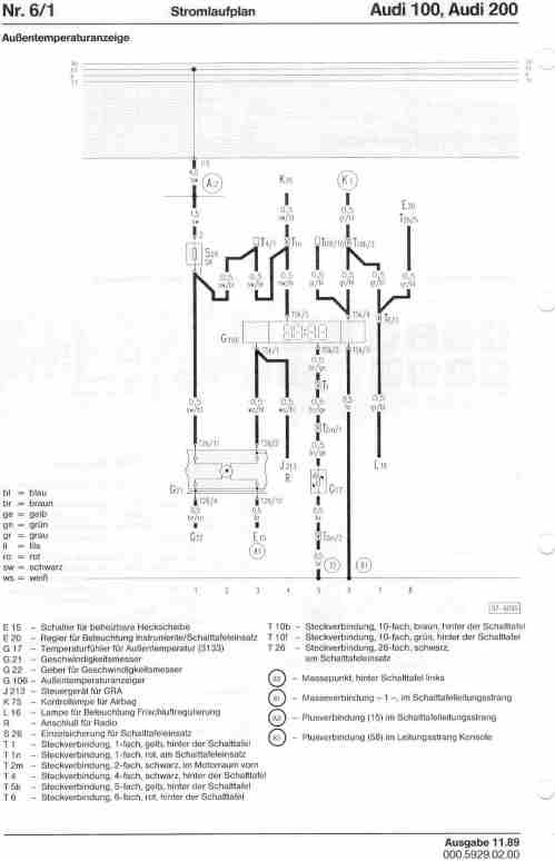 small resolution of audi 100 wiring diagram