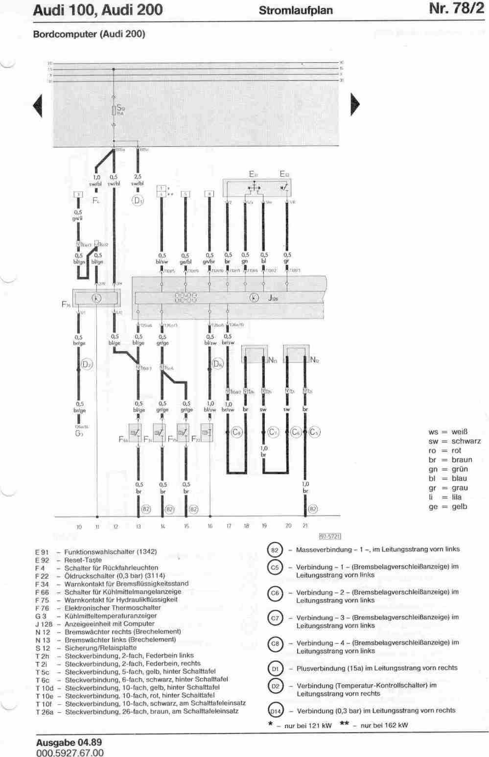 medium resolution of audi 200 wiring diagram wiring diagram articleaudi 100 200 factory wiring diagrams audi 200 wiring diagram