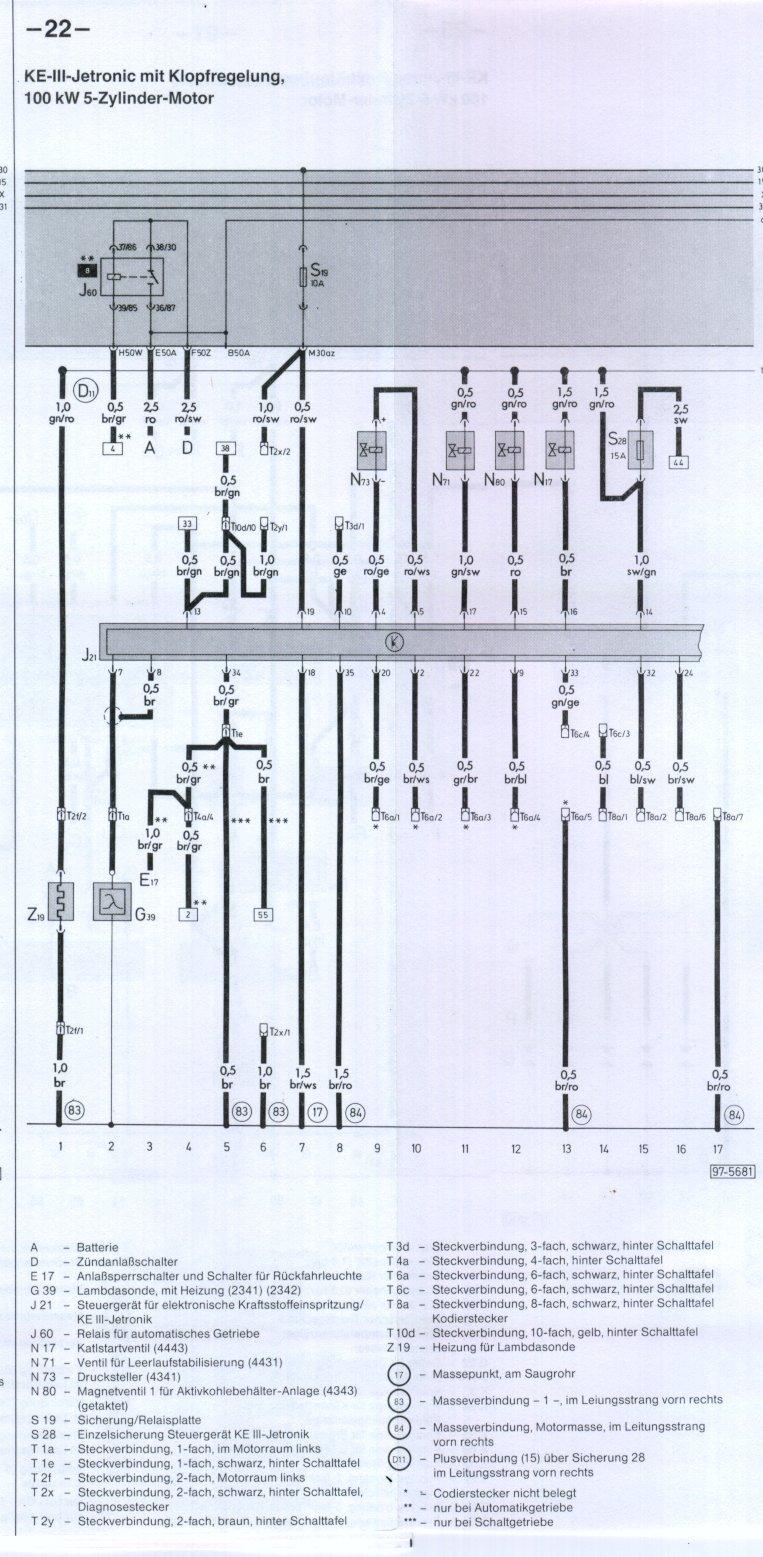 medium resolution of ke iii jetronic with knock sensors i
