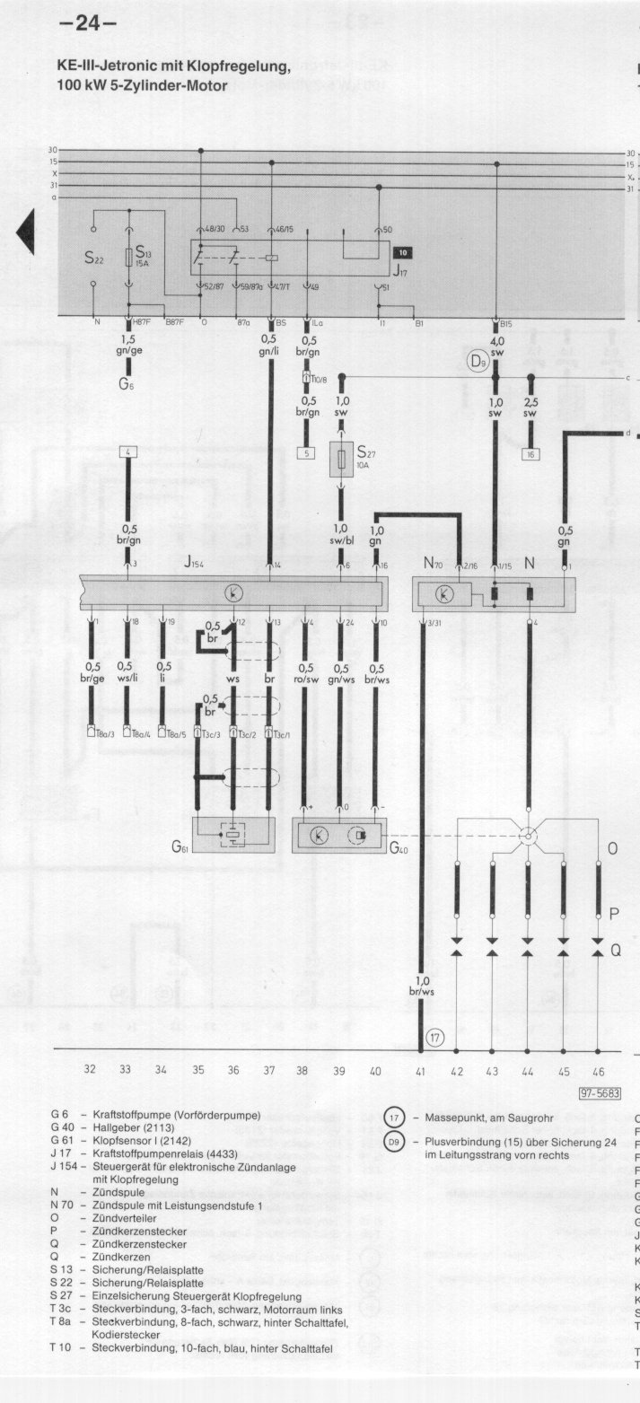 medium resolution of  index to wiring diagrams audi 100 200 type 44 chis on audi transmission diagrams