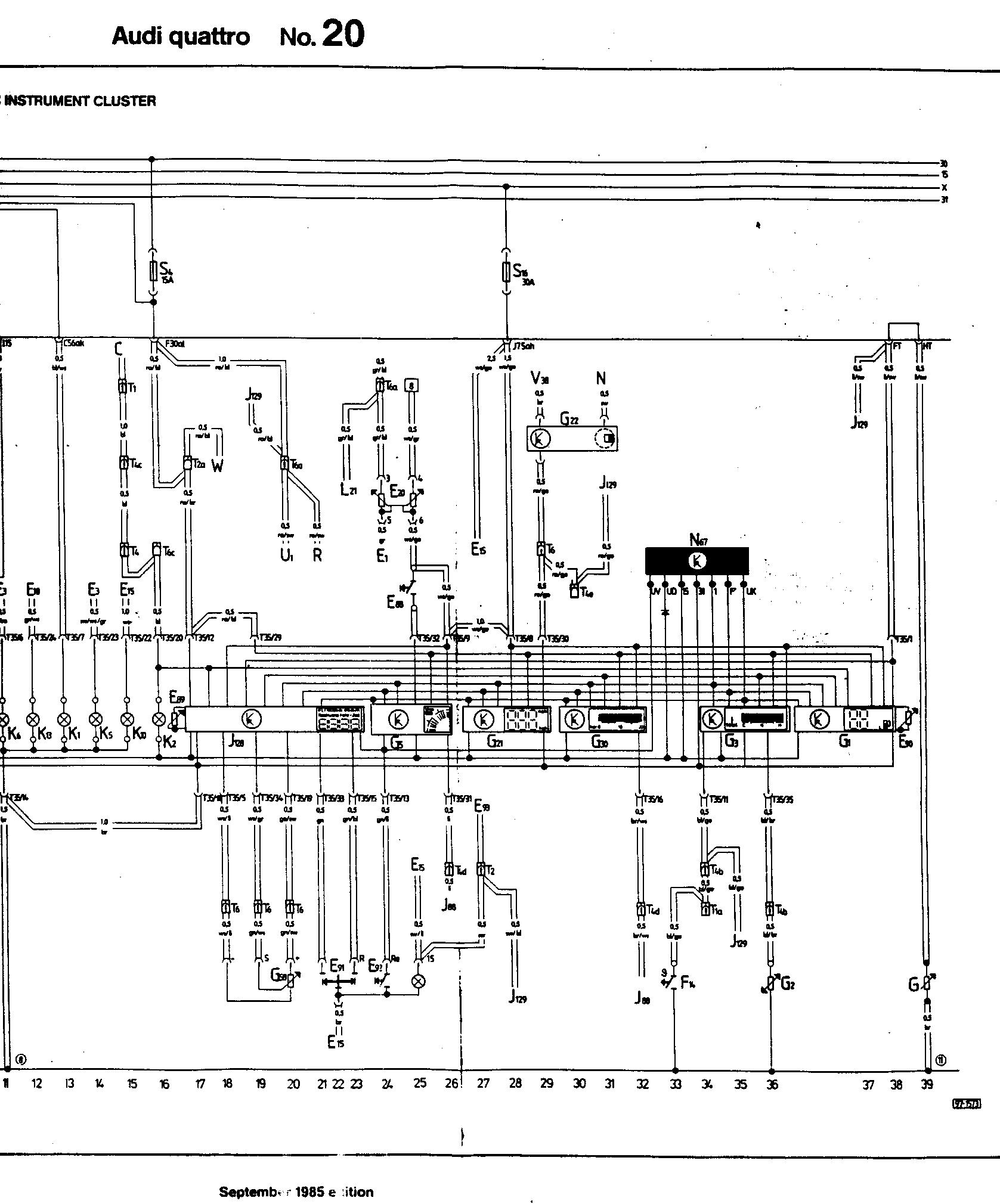 hight resolution of audi ur quattro 1985 wiring diagrams rh sealtd net audi coupe audi sport quattro