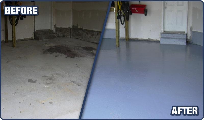 Garage Floor  Epoxy Coatings  Sealtech