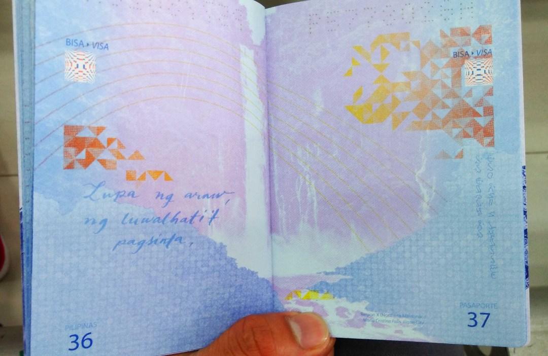 OFW Passport sample for Seafarers 2018