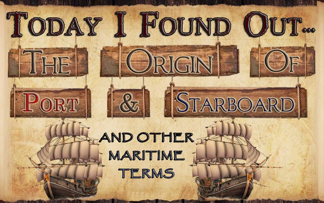 Origin of port and starboard