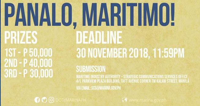 Deadline and Prizes. MARINA 45th Anniversary Photo Contest.