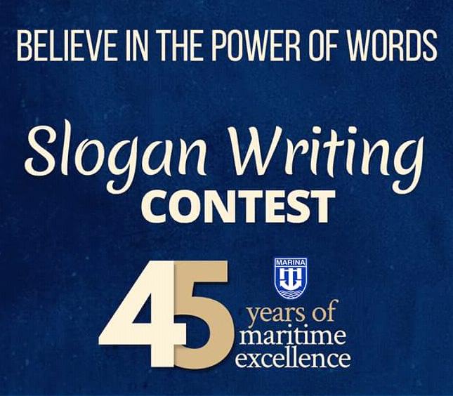 MARINA 45th Anniversary Slogan Writing Competition