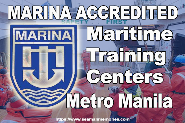 MARINA Accredited maritime training centers in Manila