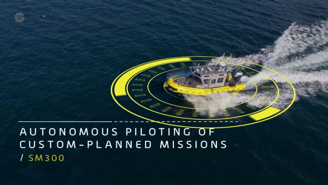 Developing technology for unmanned ships