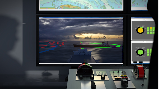 Monitoring movement and situational awareness of unmanned ship