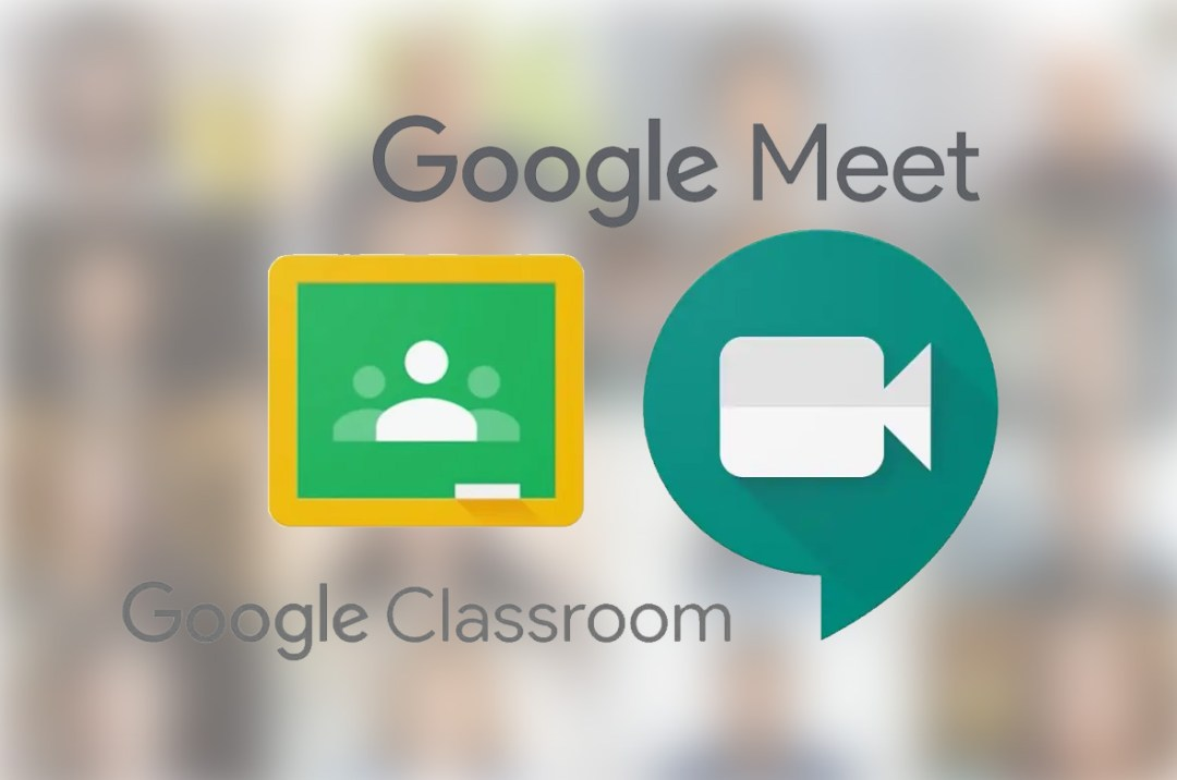 Google Meet and Google Classroom