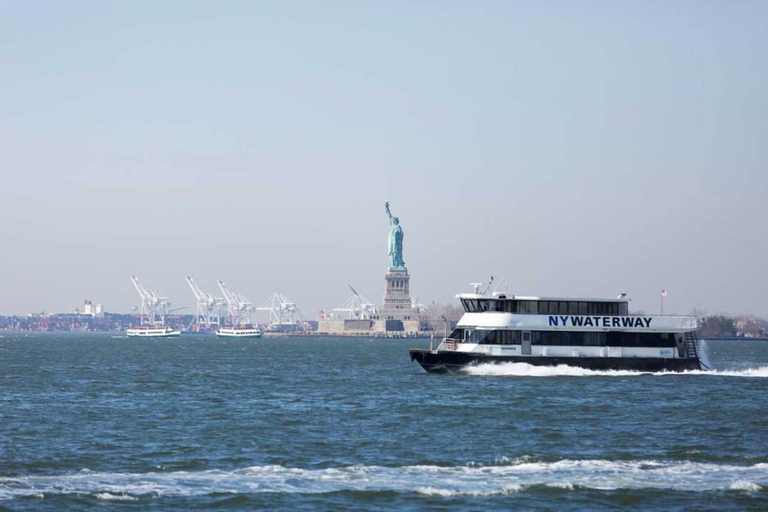 Ferry services in New York