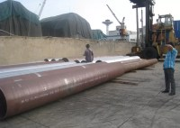 34'' 864mm OD Hot Rolled Steel Pipe , Alloy Steel Pipe SCH ...