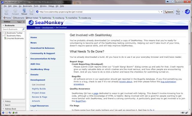 Risultati immagini per SeaMonkey