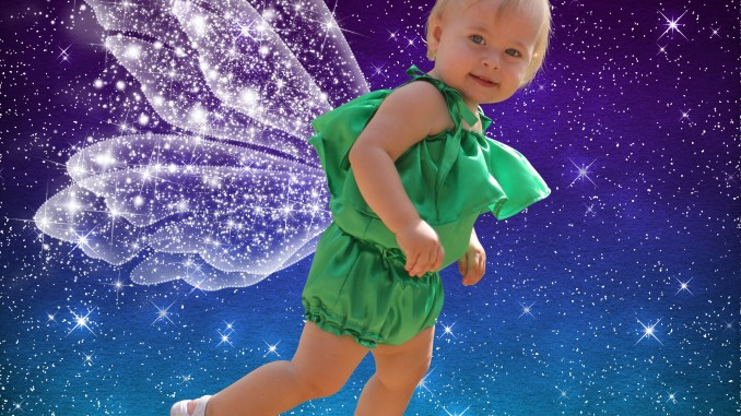 DIY Tinkerbell Halloween Costume