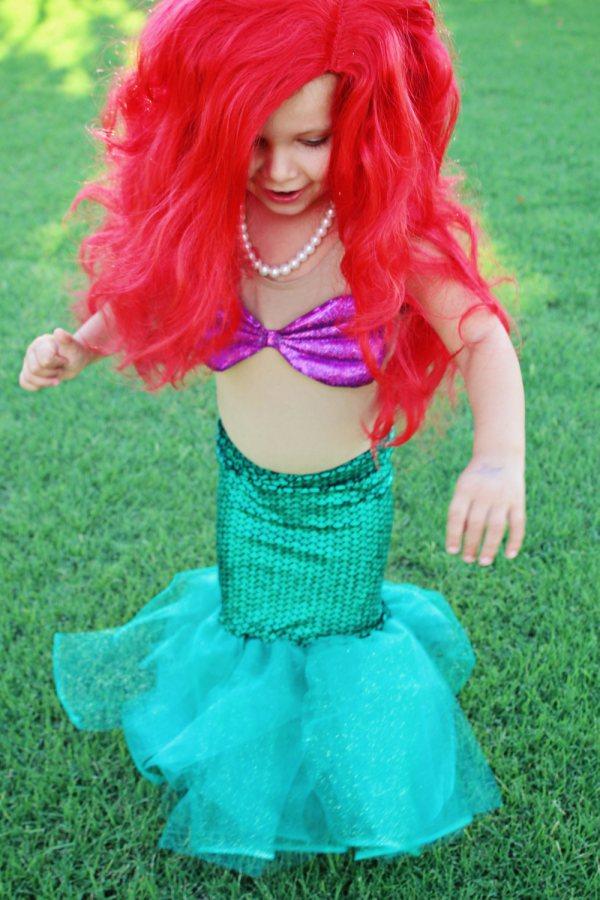 Ariel Little Mermaid Halloween Sewing Pattern Two