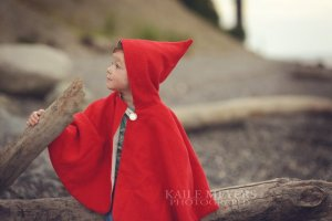 Little Red Riding Hood Halloween Costume Sewing Pattern