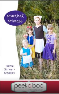 Practical Princess Halloween Costume Sewing Pattern