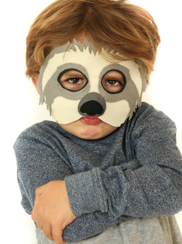 Sloth Mask Sewing Pattern by Ebony Shae Designs