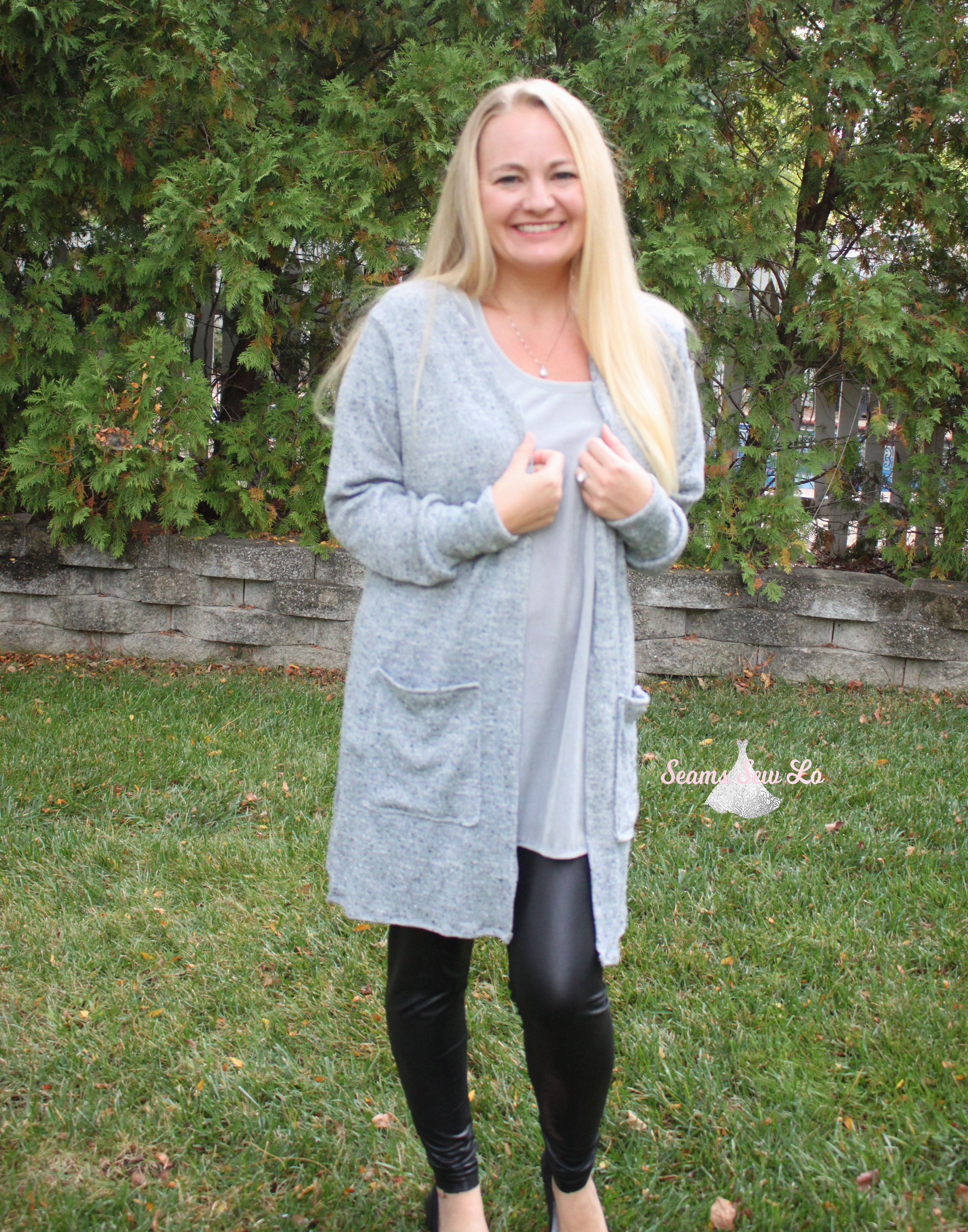 claire cardigan sewing pattern seamingly smitten