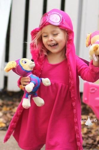diy skye halloween costume paw patrol for toddlers