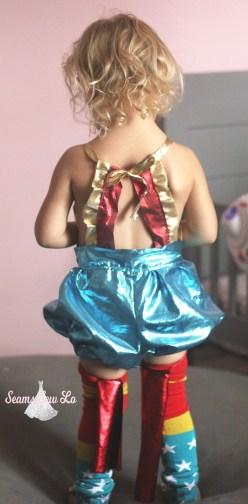 girls wonder woman diy halloween costume