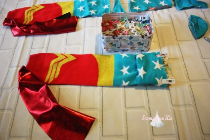 how to make baby leg warmers add cup match raw edges