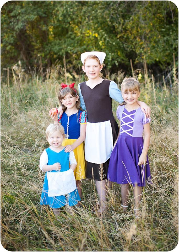Princess Dress Sewing Patterns Sale For Halloween By Peekaboo Gorgeous Peekaboo Patterns
