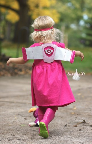 skye paw patrol halloween costume with wings and goggles