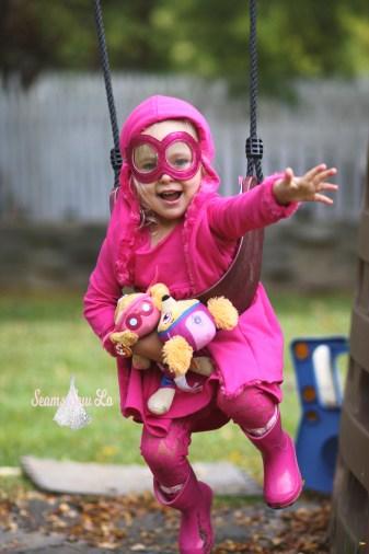 skye paw patrol halloween costume flying