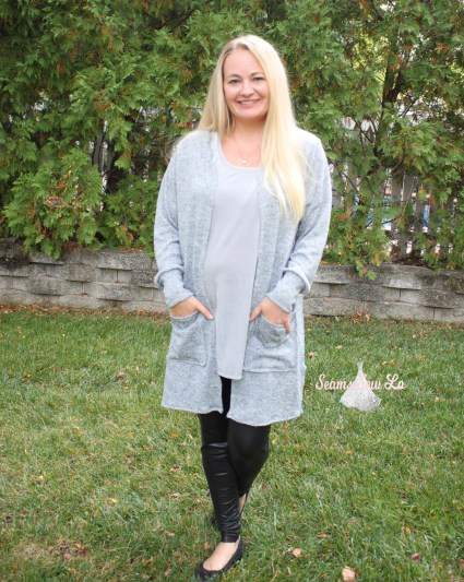 """Claire Women""""s Cardigan Sewing Pattern"""