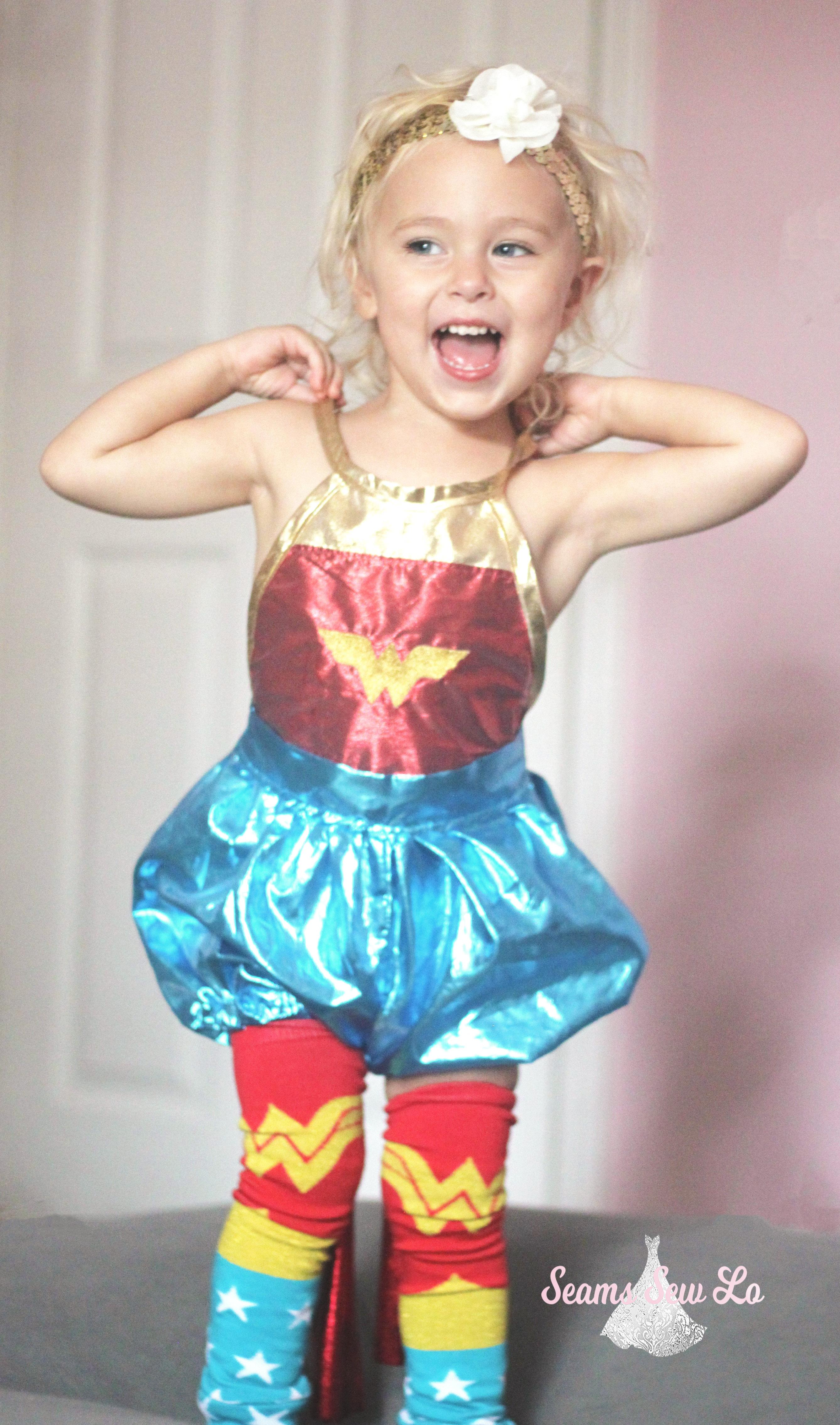 24848da0d5f DIY Wonder Woman Costume for Girls Sewing Pattern!
