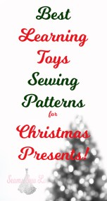 best Learning toys Sewing Patterns for Christmas Presents