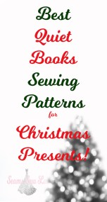 best quiet books Sewing Patterns for Christmas Presents