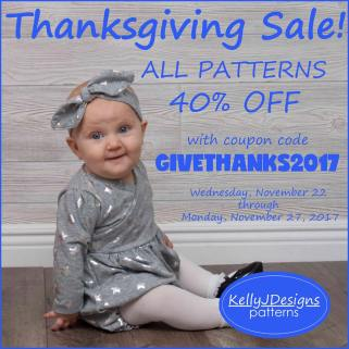 black friday sale kelly j designs sewing patterns