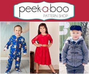 black friday sale peekaboo sewing patterns