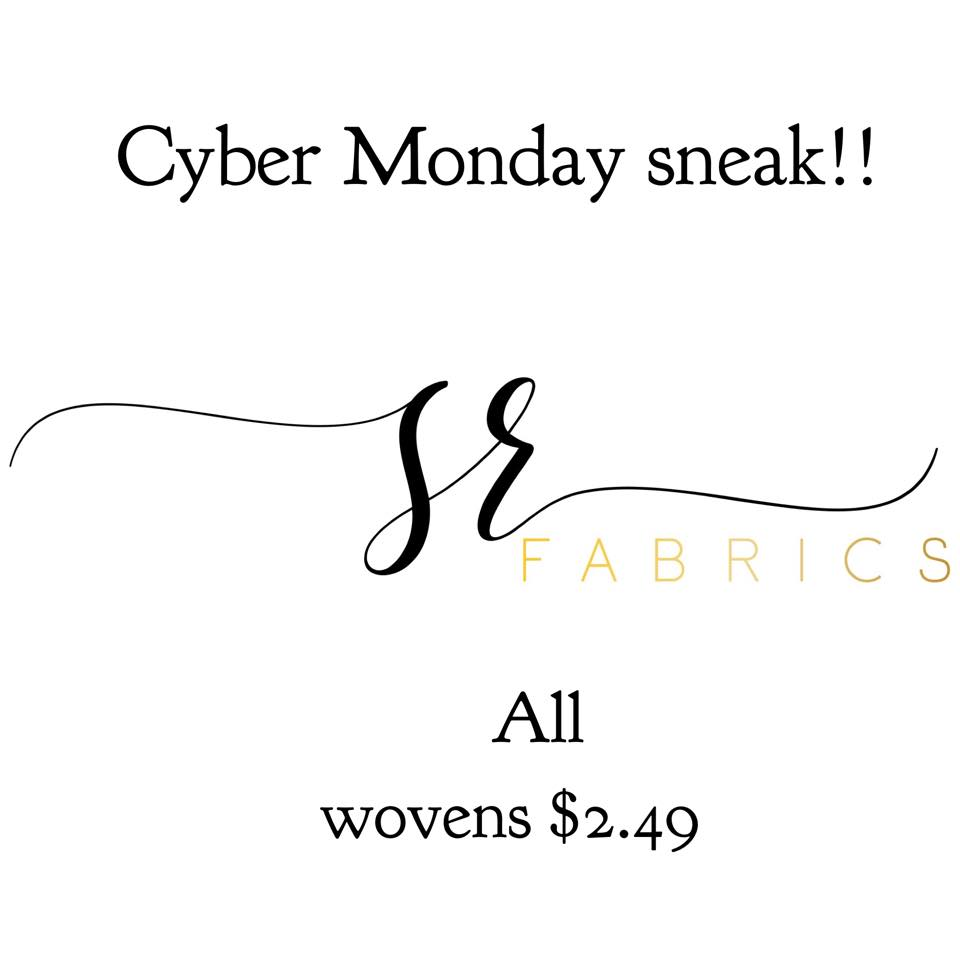 cyber monday sincerely rylee fabric sale