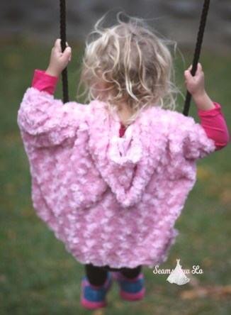seamingly smitten poncho girls sewing pattern catherine 2
