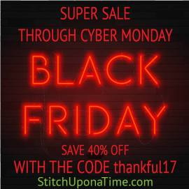stitch upon a time black friday sale