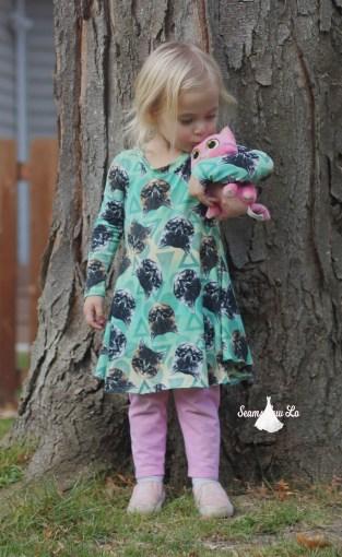 ellie and mac sweetie dress girls sewing pattern 7