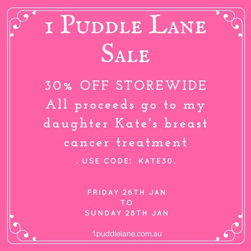 1 puddle lane sewing pattern fundraiser breast cancer sale